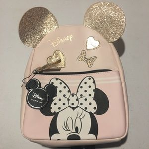 Disney x Primark Pastel Minnie Mouse Backpack NWT